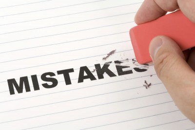 Mistakes made when filing bankruptcy -